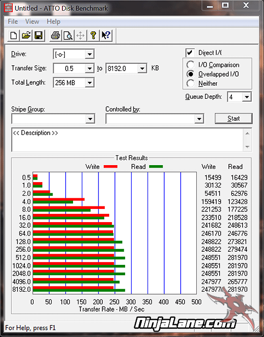 OCZ Vertex 2 60GB SSD Review - Setup and Testing Synthetic