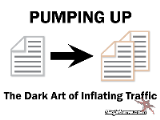 The Dark Art of Inflating Traffic